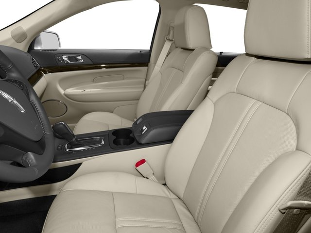 2016 Lincoln MKT Prices and Values Wagon 4D EcoBoost AWD V6 front seat interior