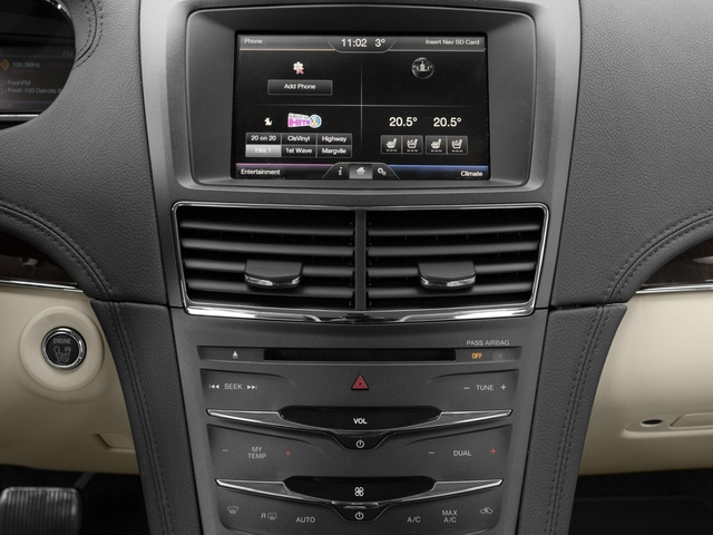 2016 Lincoln MKT Prices and Values Wagon 4D EcoBoost AWD V6 stereo system