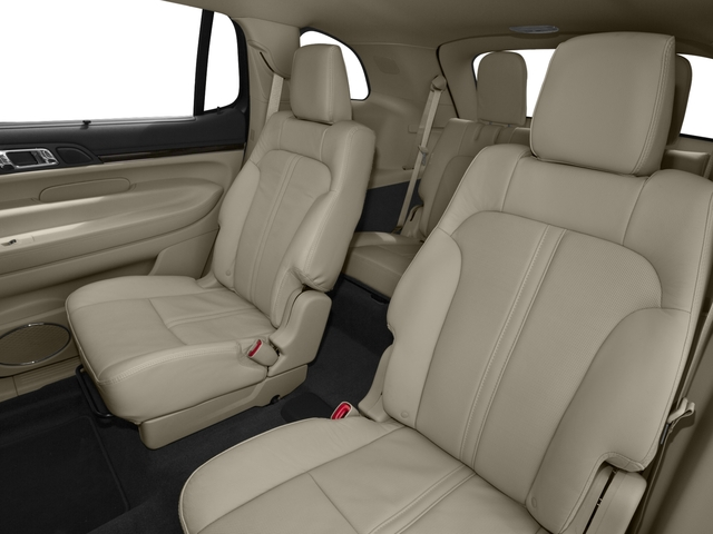 2016 Lincoln MKT Prices and Values Wagon 4D Town Car EcoBoost 2WD I4 backseat interior