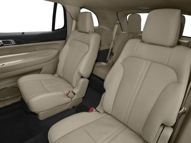 2016 Lincoln MKT Prices and Values Wagon 4D EcoBoost AWD V6 backseat interior