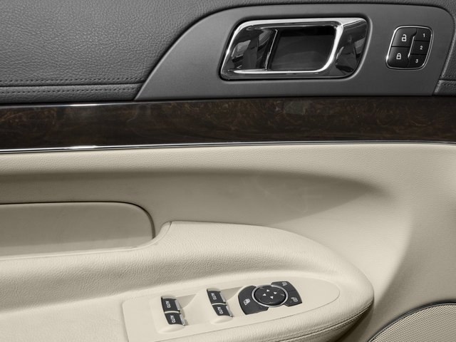 2016 Lincoln MKT Prices and Values Wagon 4D EcoBoost AWD V6 driver's side interior controls