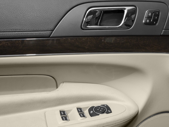 2016 Lincoln MKT Prices and Values Wagon 4D Town Car EcoBoost 2WD I4 driver's side interior controls