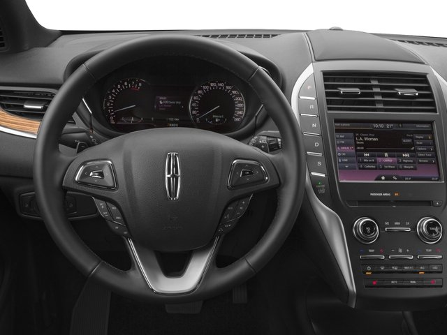 2016 Lincoln MKC Prices and Values Utility 4D Premiere AWD I4 Turbo driver's dashboard