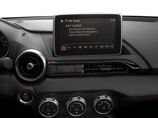 2016 Mazda MX-5 Miata Prices and Values Convertible 2D GT Launch I4 stereo system