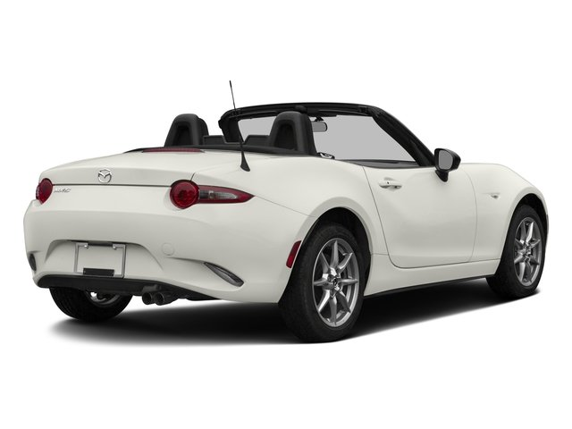2016 Mazda MX-5 Miata Prices and Values Convertible 2D Sport I4 side rear view