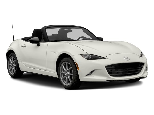 2016 Mazda MX-5 Miata Prices and Values Convertible 2D Sport I4 side front view