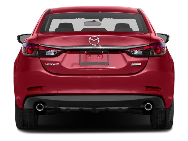 2016 Mazda Mazda6 Pictures Mazda6 Sedan 4D i Sport I4 photos rear view