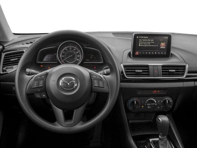 2016 Mazda Mazda3 Prices and Values Sedan 4D i Sport I4 driver's dashboard