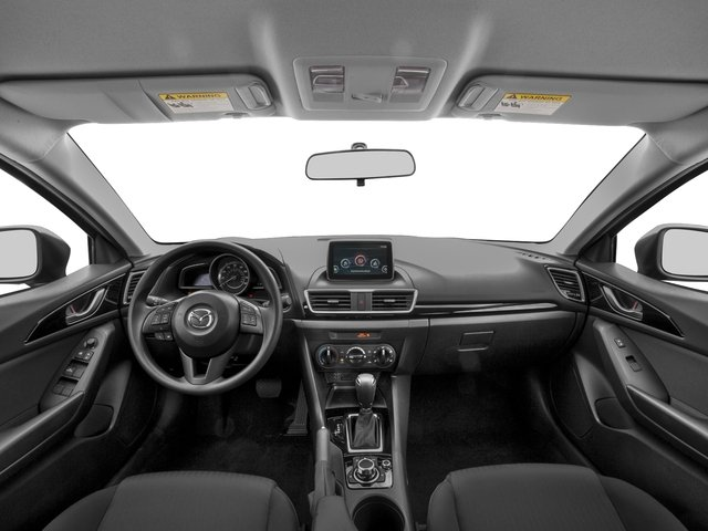 2016 Mazda Mazda3 Pictures Mazda3 Sedan 4D i Sport I4 photos full dashboard