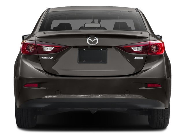 2016 Mazda Mazda3 Prices and Values Sedan 4D i Touring I4 rear view