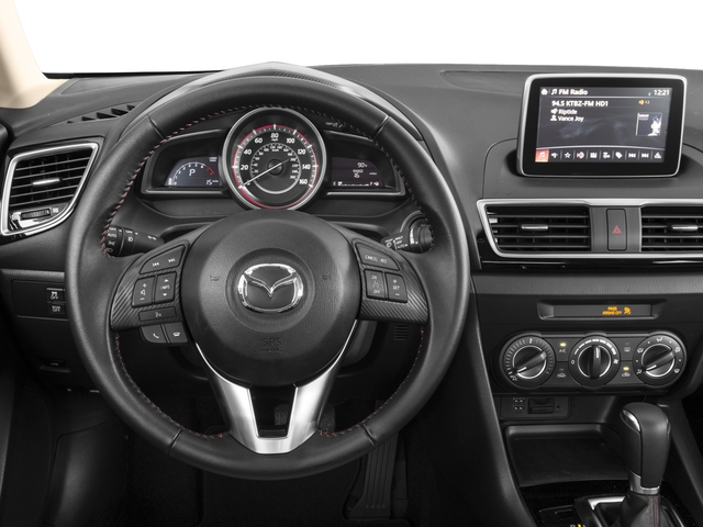 2016 Mazda Mazda3 Prices and Values Sedan 4D i Touring I4 driver's dashboard