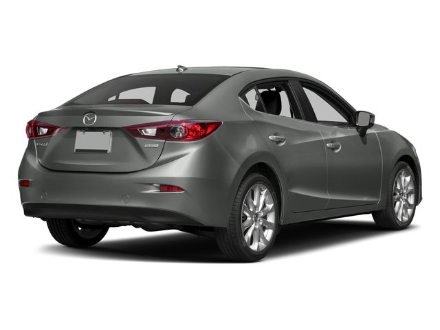 2016 Mazda Mazda3 Pictures Mazda3 Sedan 4D s Touring I4 photos side rear view