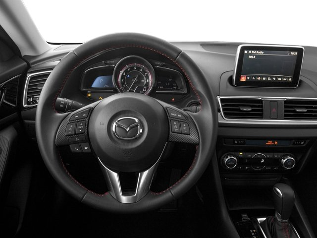 2016 Mazda Mazda3 Prices and Values Sedan 4D s GT I4 driver's dashboard