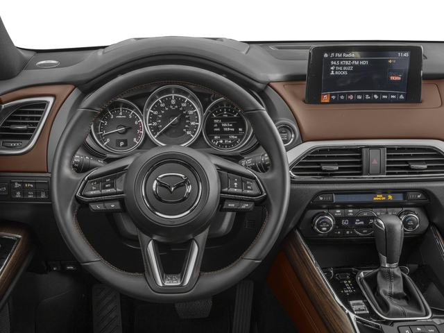 2016 Mazda CX-9 Prices and Values Utility 4D Signature AWD I4 driver's dashboard