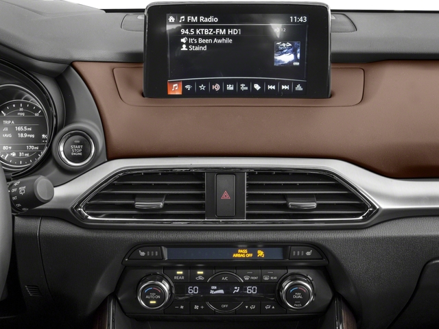 2016 Mazda CX-9 Prices and Values Utility 4D Signature AWD I4 stereo system