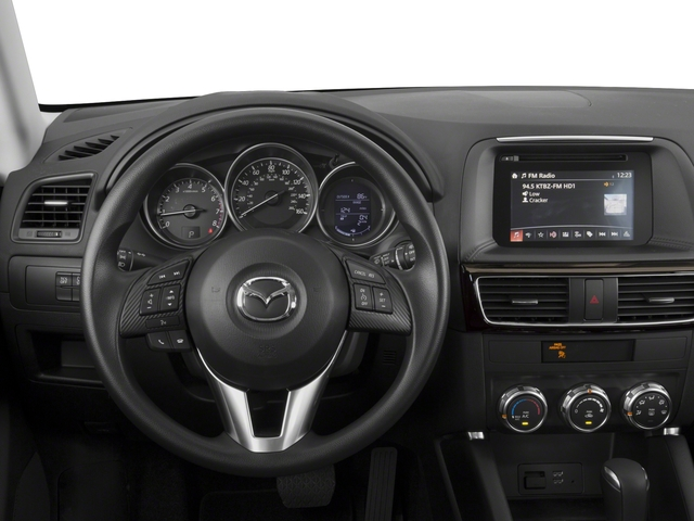 2016 Mazda CX-5 Prices and Values Utility 4D Sport 2WD I4 Manual driver's dashboard
