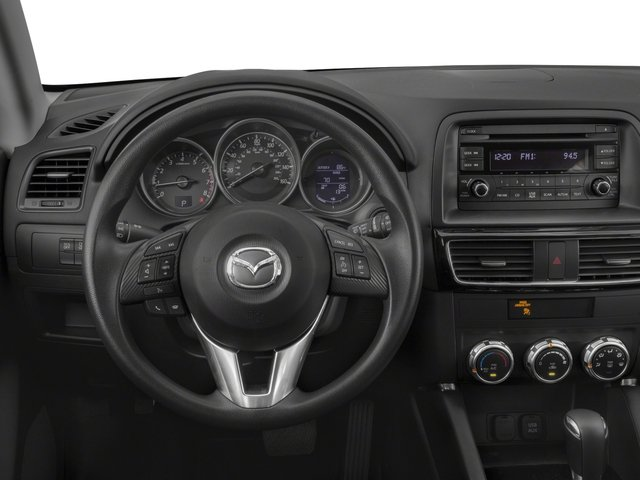 2016 Mazda CX-5 Prices and Values Utility 4D Sport AWD I4 driver's dashboard