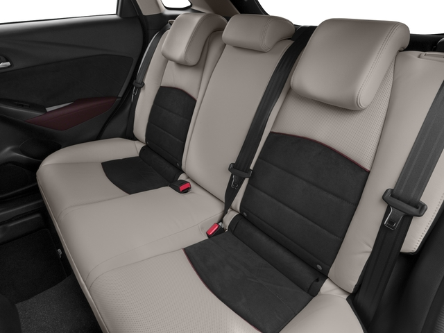 2016 Mazda CX-3 Prices and Values Utility 4D GT 2WD I4 backseat interior