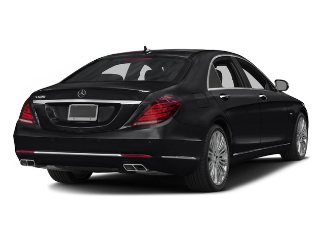 2016 Mercedes-Benz S-Class Pictures S-Class Sedan 4D S600 V12 Turbo photos side rear view