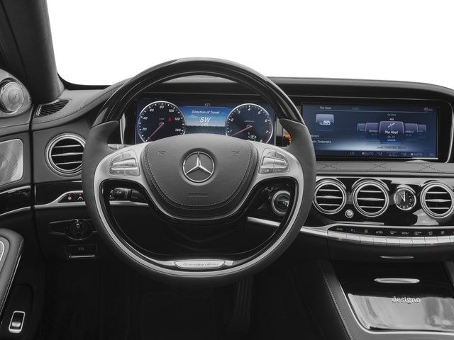 2016 Mercedes-Benz S-Class Pictures S-Class Sedan 4D S600 V12 Turbo photos driver's dashboard