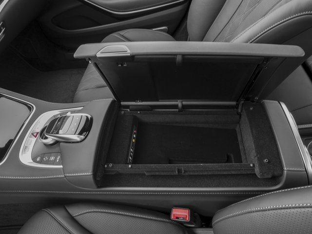 2016 Mercedes-Benz S-Class Pictures S-Class Sedan 4D S600 V12 Turbo photos center storage console