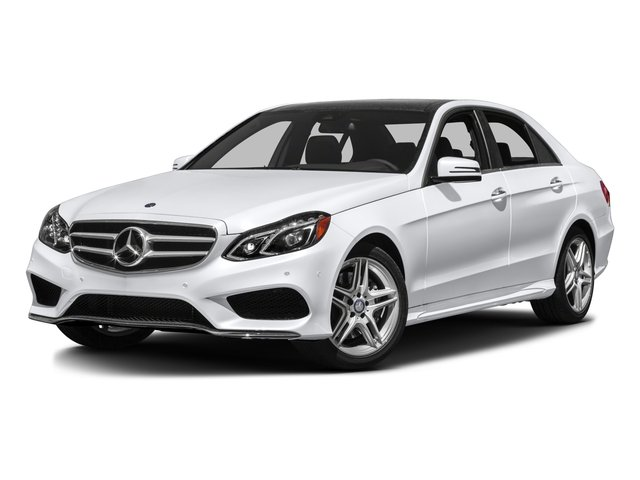 2016 Mercedes-Benz E-Class Prices and Values Sedan 4D E350 AWD V6 side front view
