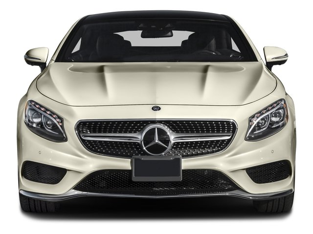 2016 Mercedes-Benz S-Class Prices and Values Coupe 2D S550 AWD V8 Turbo front view