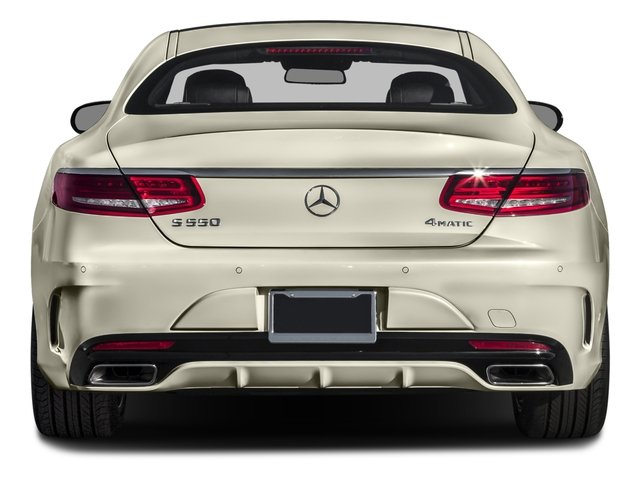 2016 Mercedes-Benz S-Class Prices and Values Coupe 2D S550 AWD V8 Turbo rear view