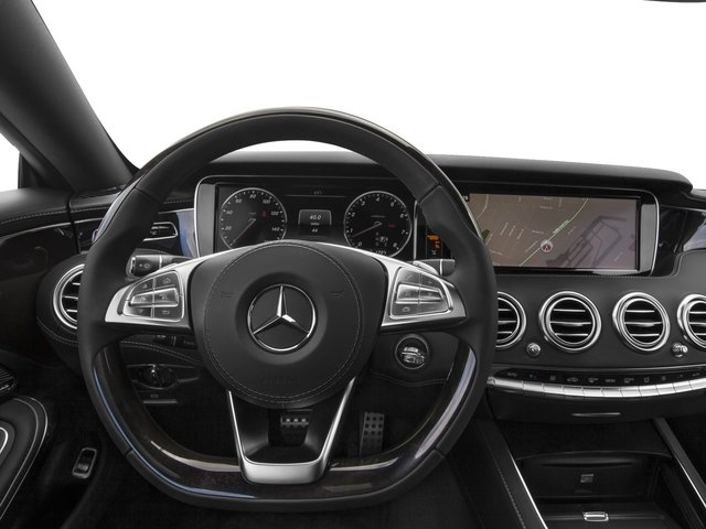 2016 Mercedes-Benz S-Class Prices and Values Coupe 2D S550 AWD V8 Turbo driver's dashboard
