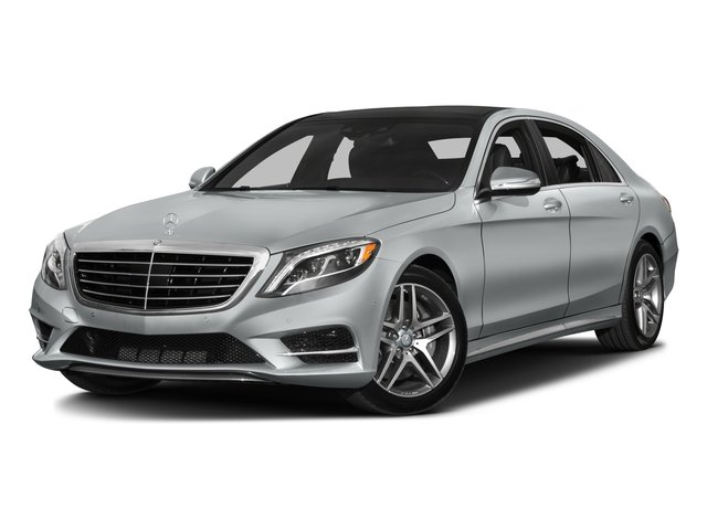 2016 Mercedes-Benz S-Class Prices and Values Sedan 4D S550 AWD V8 Turbo side front view
