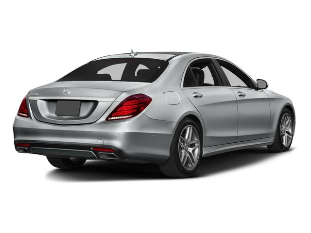 2016 Mercedes-Benz S-Class Prices and Values Sedan 4D S550 AWD V8 Turbo side rear view