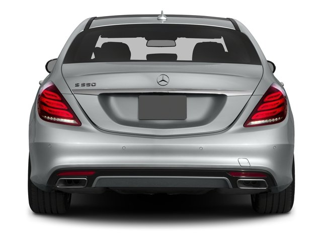 2016 Mercedes-Benz S-Class Prices and Values Sedan 4D S550 AWD V8 Turbo rear view