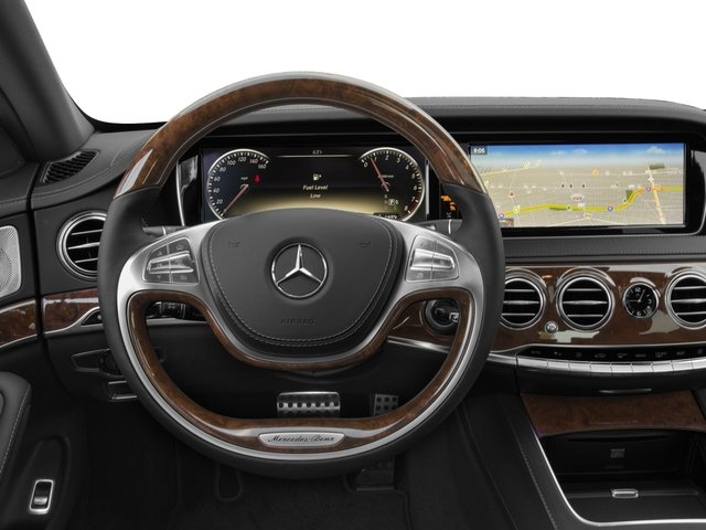 2016 Mercedes-Benz S-Class Prices and Values Sedan 4D S550 AWD V8 Turbo driver's dashboard