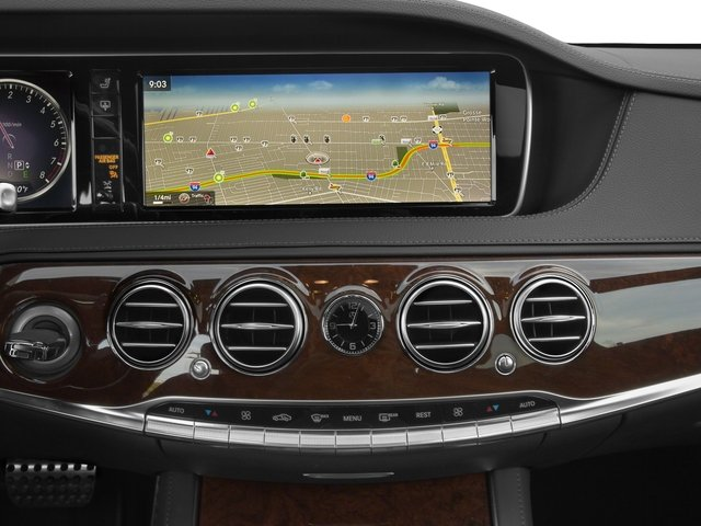 2016 Mercedes-Benz S-Class Prices and Values Sedan 4D S550 AWD V8 Turbo stereo system