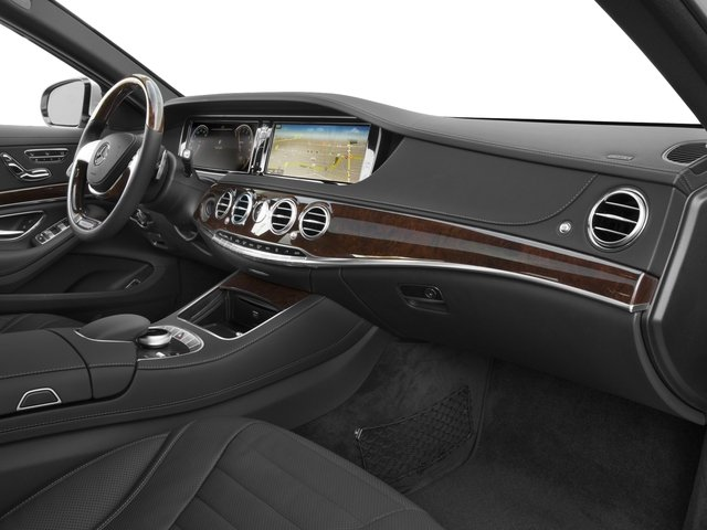 2016 Mercedes-Benz S-Class Prices and Values Sedan 4D S550 AWD V8 Turbo passenger's dashboard