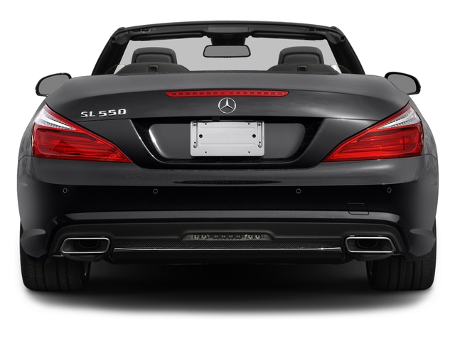 2016 Mercedes-Benz SL Prices and Values Roadster 2D SL550 V8 Turbo rear view