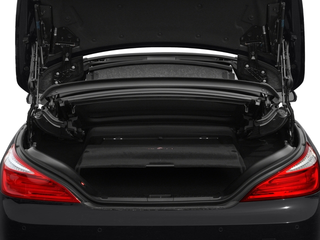 2016 Mercedes-Benz SL Prices and Values Roadster 2D SL550 V8 Turbo open trunk