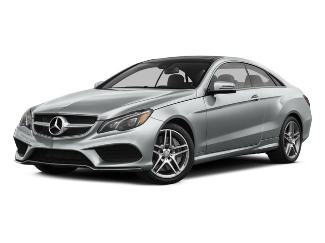 2016 Mercedes-Benz E-Class Prices and Values Coupe 2D E550 V8 Turbo side front view