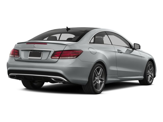 2016 Mercedes-Benz E-Class Prices and Values Coupe 2D E550 V8 Turbo side rear view