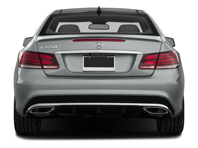 2016 Mercedes-Benz E-Class Prices and Values Coupe 2D E550 V8 Turbo rear view