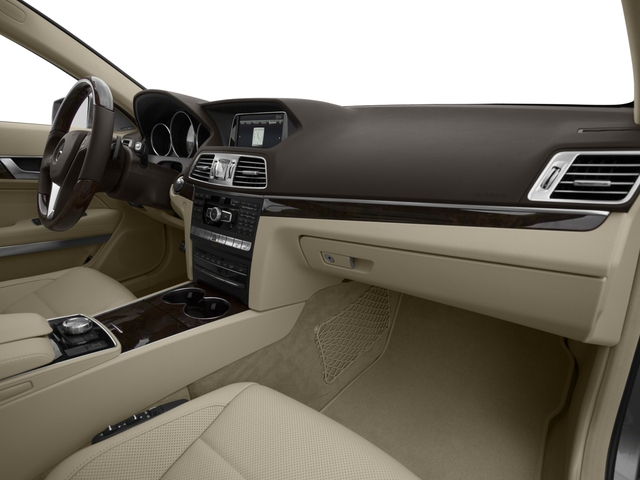 2016 Mercedes-Benz E-Class Prices and Values Coupe 2D E550 V8 Turbo passenger's dashboard