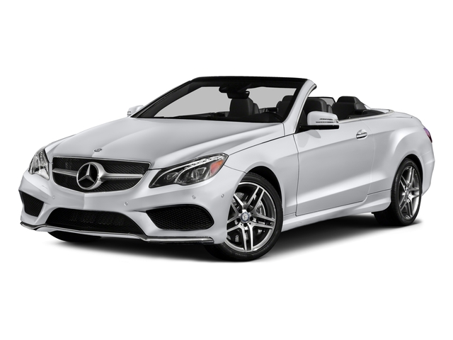 2016 Mercedes-Benz E-Class Prices and Values Convertible 2D E550 V8 Turbo side front view