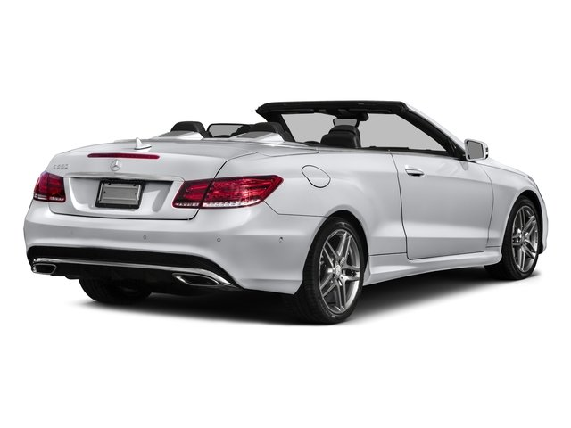 2016 Mercedes-Benz E-Class Prices and Values Convertible 2D E550 V8 Turbo side rear view