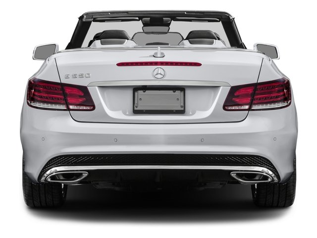 2016 Mercedes-Benz E-Class Prices and Values Convertible 2D E550 V8 Turbo rear view