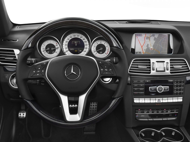 2016 Mercedes-Benz E-Class Prices and Values Convertible 2D E550 V8 Turbo driver's dashboard