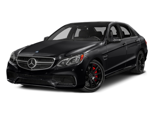 2016 Mercedes-Benz E-Class Prices and Values Sedan 4D E63 AMG S AWD V8 Turbo side front view