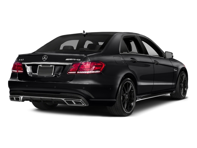 2016 Mercedes-Benz E-Class Prices and Values Sedan 4D E63 AMG S AWD V8 Turbo side rear view