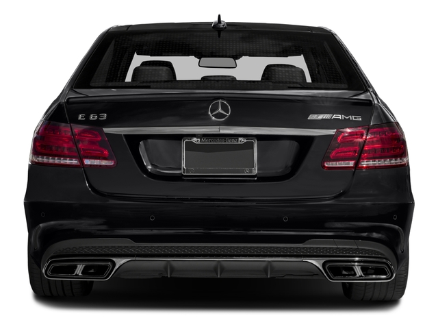 2016 Mercedes-Benz E-Class Prices and Values Sedan 4D E63 AMG S AWD V8 Turbo rear view