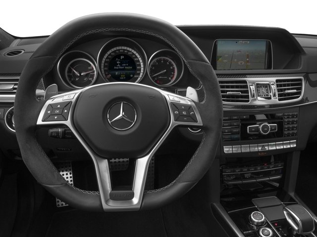 2016 Mercedes-Benz E-Class Prices and Values Sedan 4D E63 AMG S AWD V8 Turbo driver's dashboard