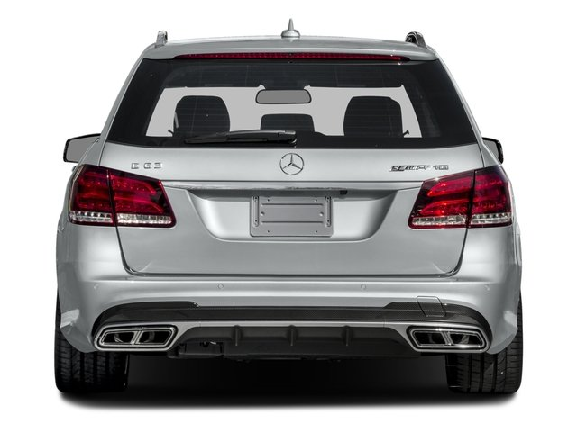 2016 Mercedes-Benz E-Class Prices and Values Wagon 4D E63 AMG S AWD V8 Turbo rear view